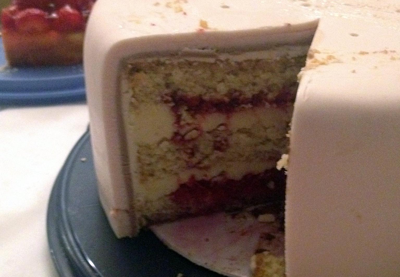 Meine Erste 3 Stockige Torte Ist Eine Hochzeitstorte Lekrativ